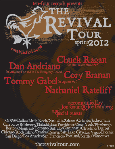 The Revival Tour feat Chuck Ragan – REVIEW