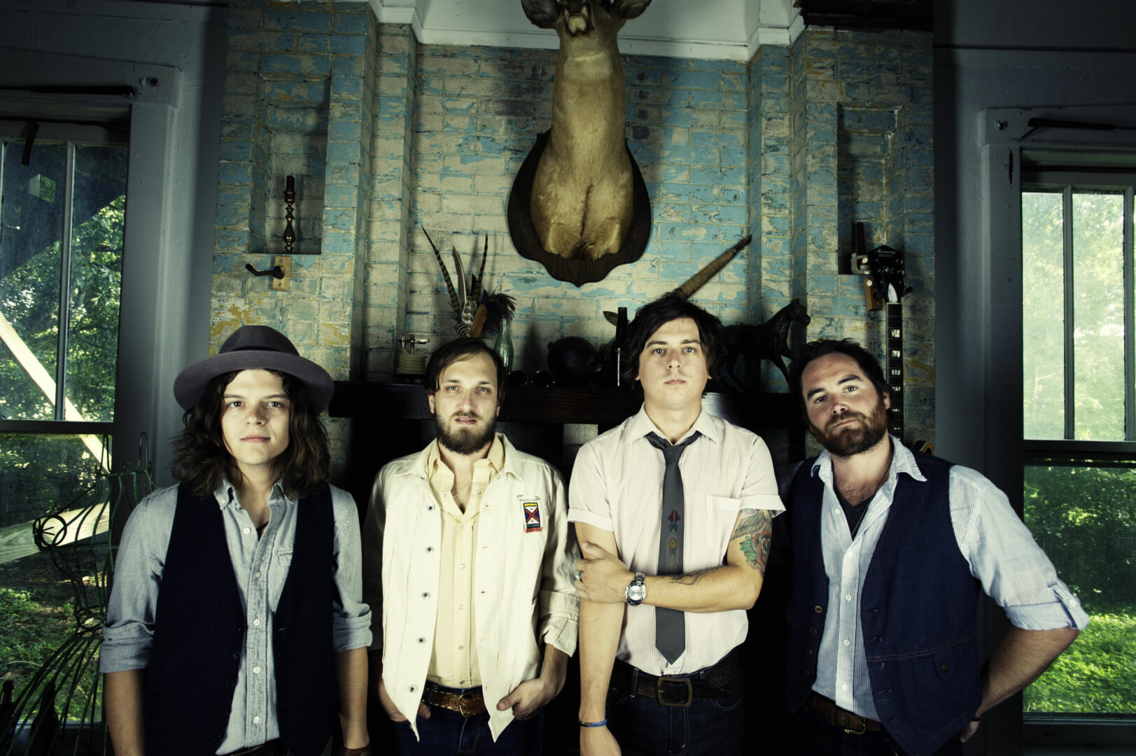 The Wild Feathers Announce Tour Supporting Willie Nelson