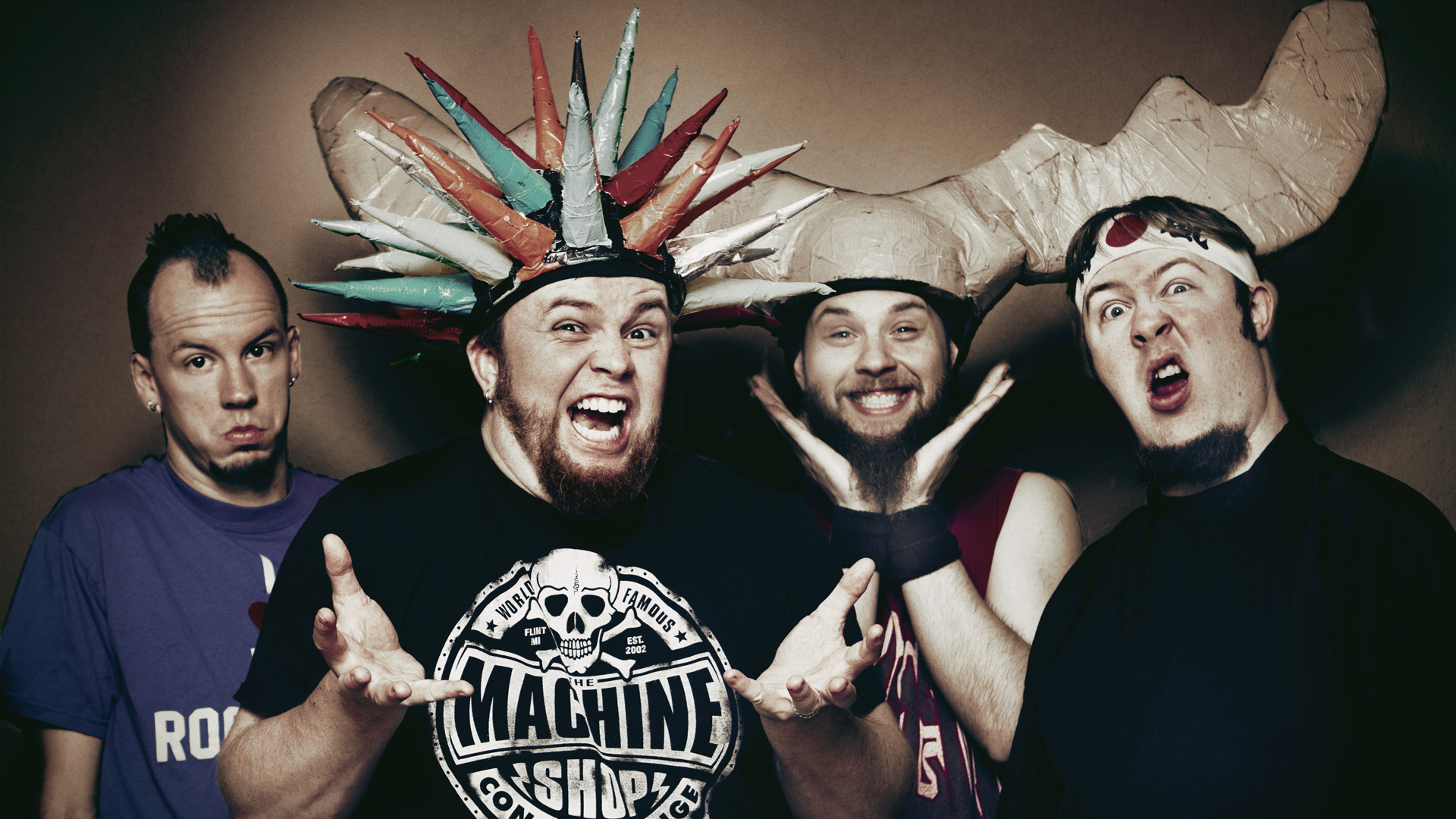 "Psychostick Announce the ""Revenge Of The Vengeance Tour: Part 2"""