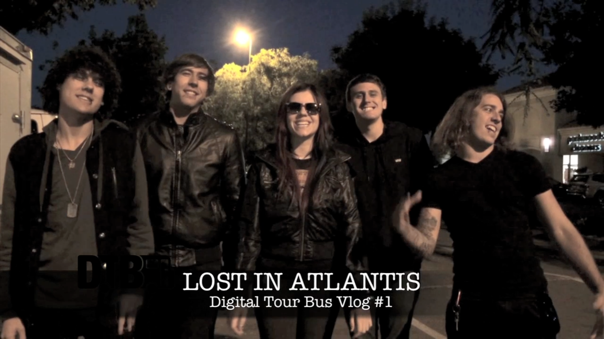 "Lost In Atlantis – 1st ROAD BLOG from the ""Nothing Can Stop Us Tour"" [VIDEO]"