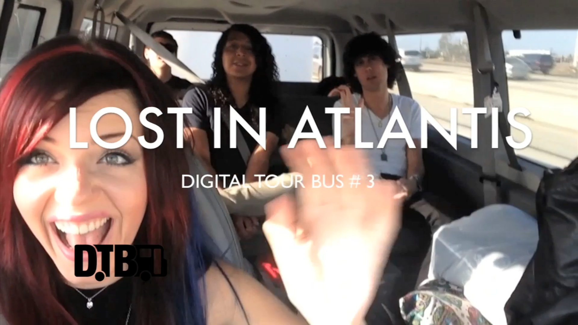 "Lost In Atlantis – 3rd ROAD BLOG from the ""Nothing Can Stop Us Tour"" [VIDEO]"