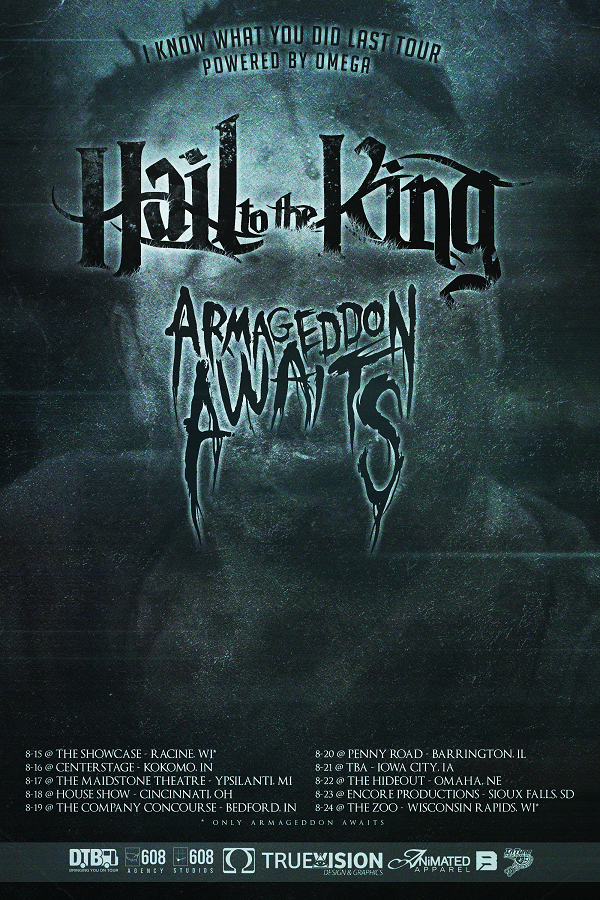 Hail to the King - poster