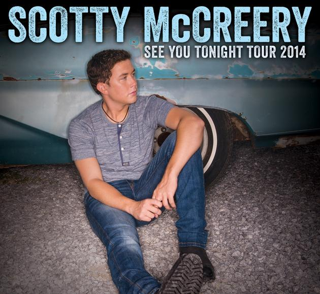 "Scotty McCreery Adds Dates To ""See You Tonight Tour"