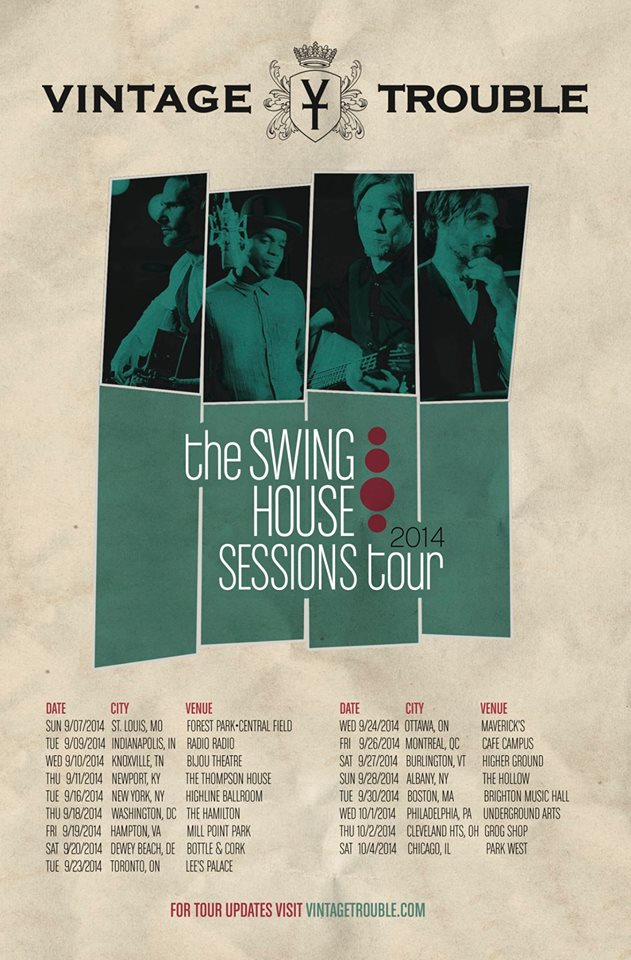 The Swing House Sessions Tour - poster