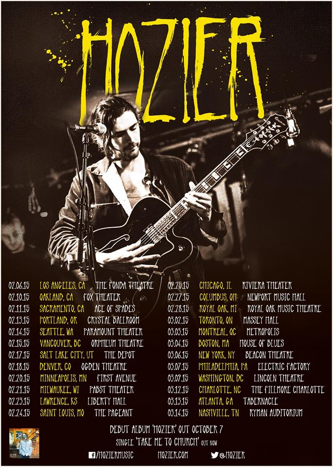Hozier Adds Dates To North American Tour Digital Tour Bus