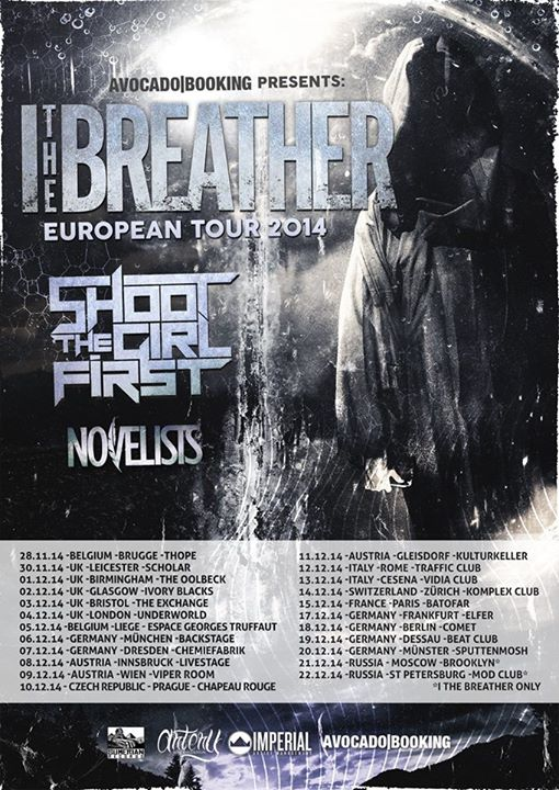 I, The Breather 2014 EU Tour-poster