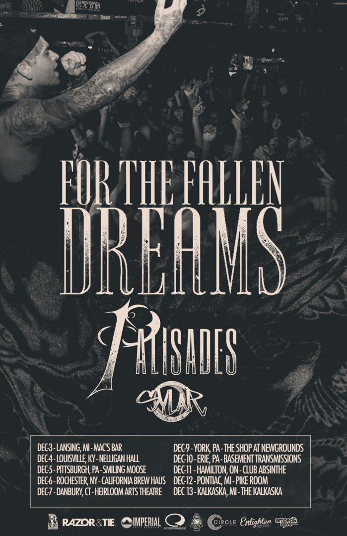 For The Fallen Dreams Winter 2014-poster