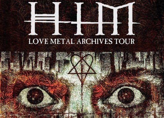 HIM - Love Metal Archives Tour - poster