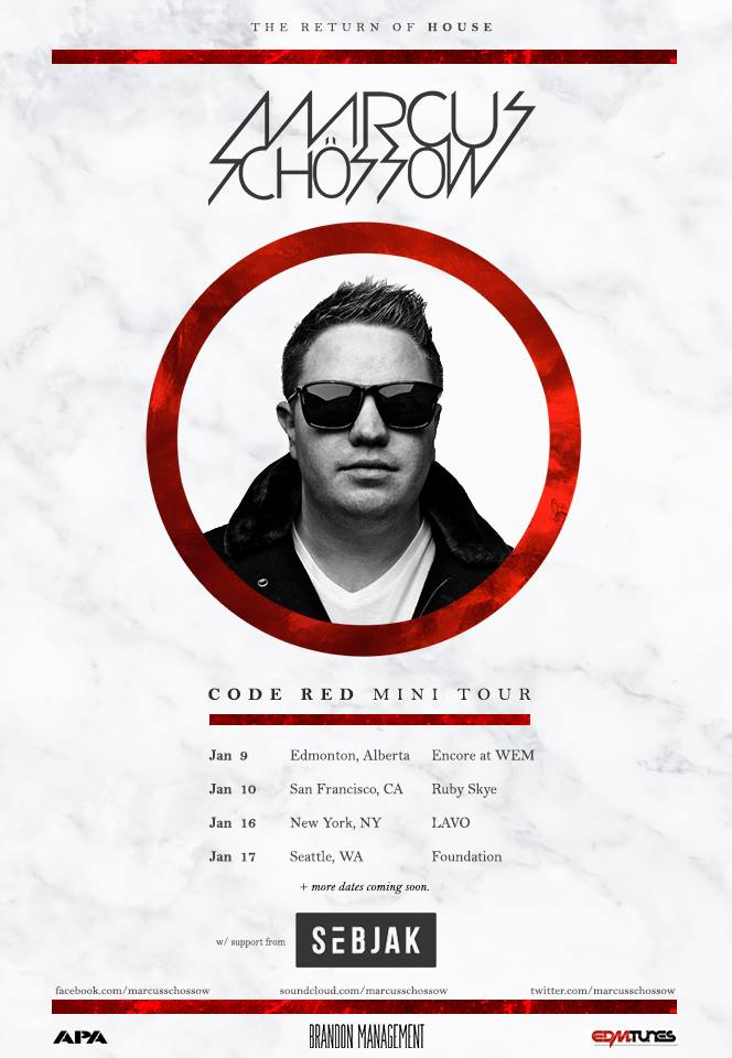 Marcus-Schossow-Code-Red-Mini-Tour-poster