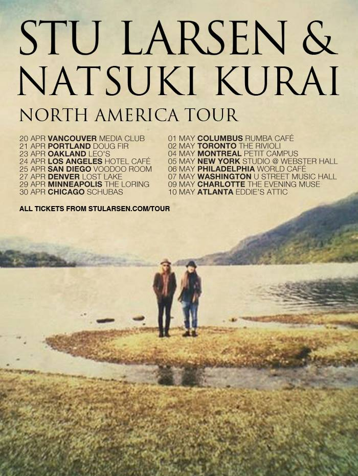 Stu Larsen Announces North American Tour Digital Tour Bus
