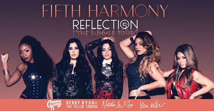 Fifth Harmony - Reflection The Summer Tour - poster