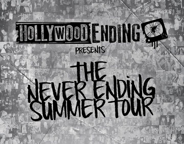 Hollywood Ending - The Never Ending Summer Tour - poster