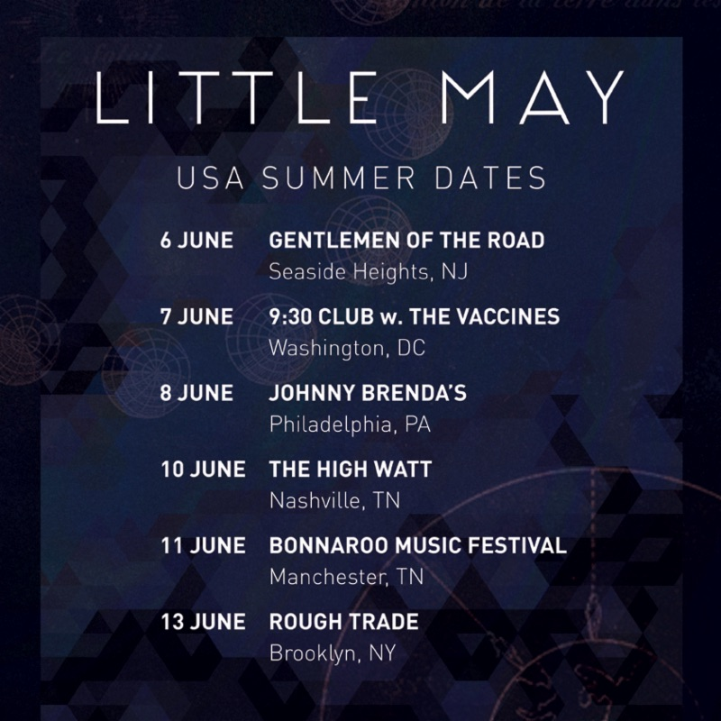 Little May US Summer Tour 2015