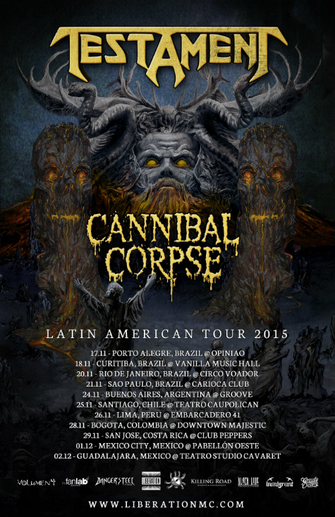 Cannibal-Corpse-Testament-Fall-Latin-America-Tour-poster