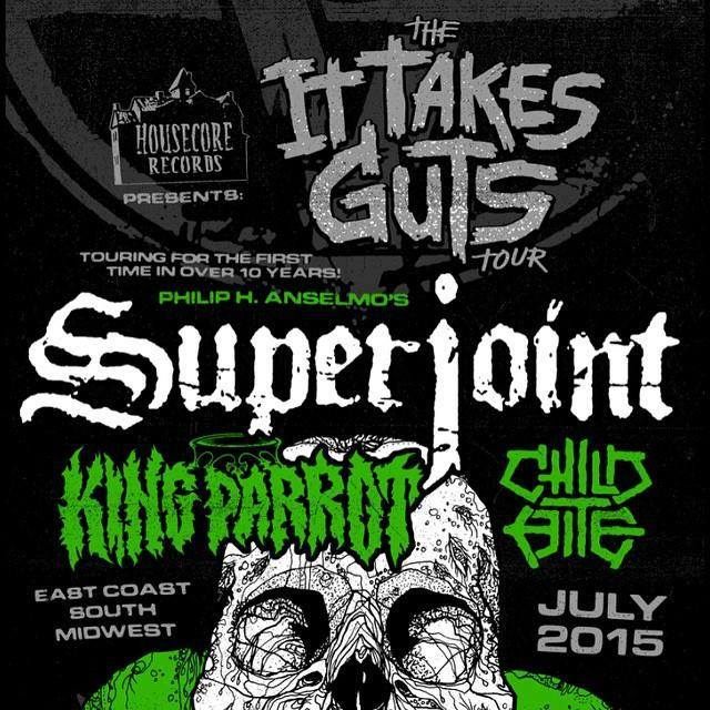 Superjoint - The It Takes Guts Tour - poster