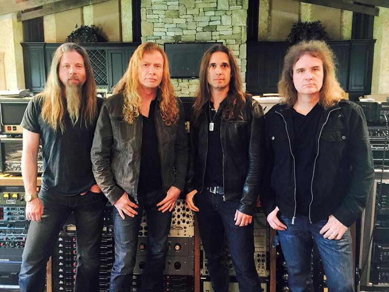 Megadeth Announce UK Tour with Lamb of God