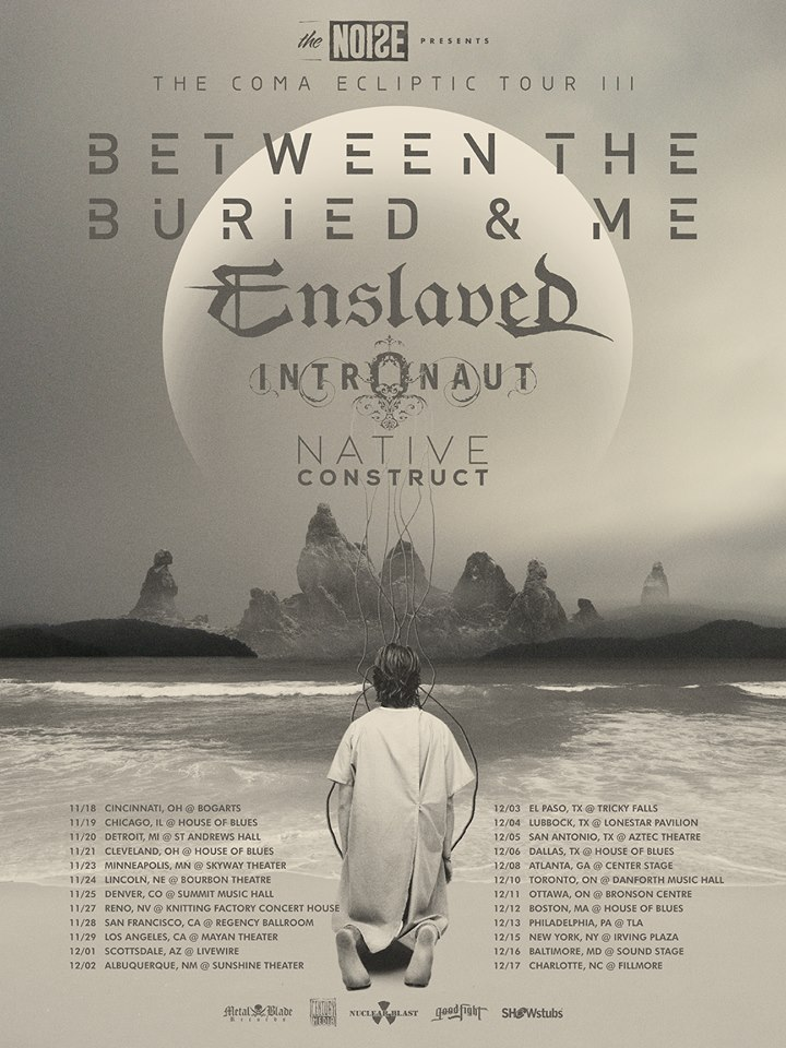 BEtween-The-Buried-And-Me-Coma-Ecliptic-tour-poster