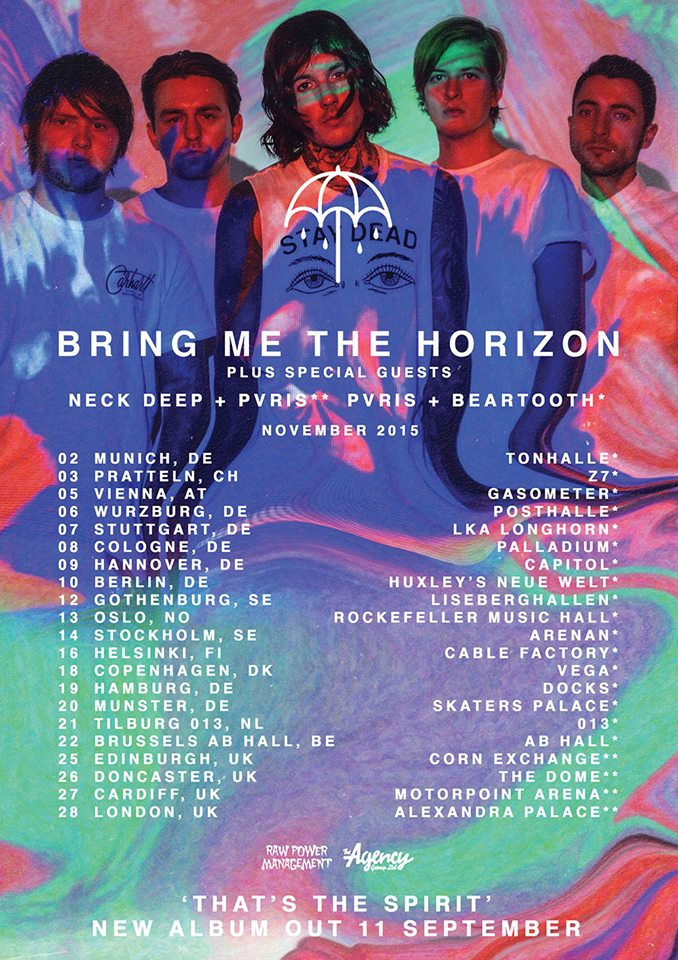 Bring Me The Horizon - UK Tour