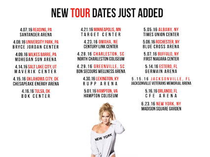 Amy Schumer - Spring US Tour - poster