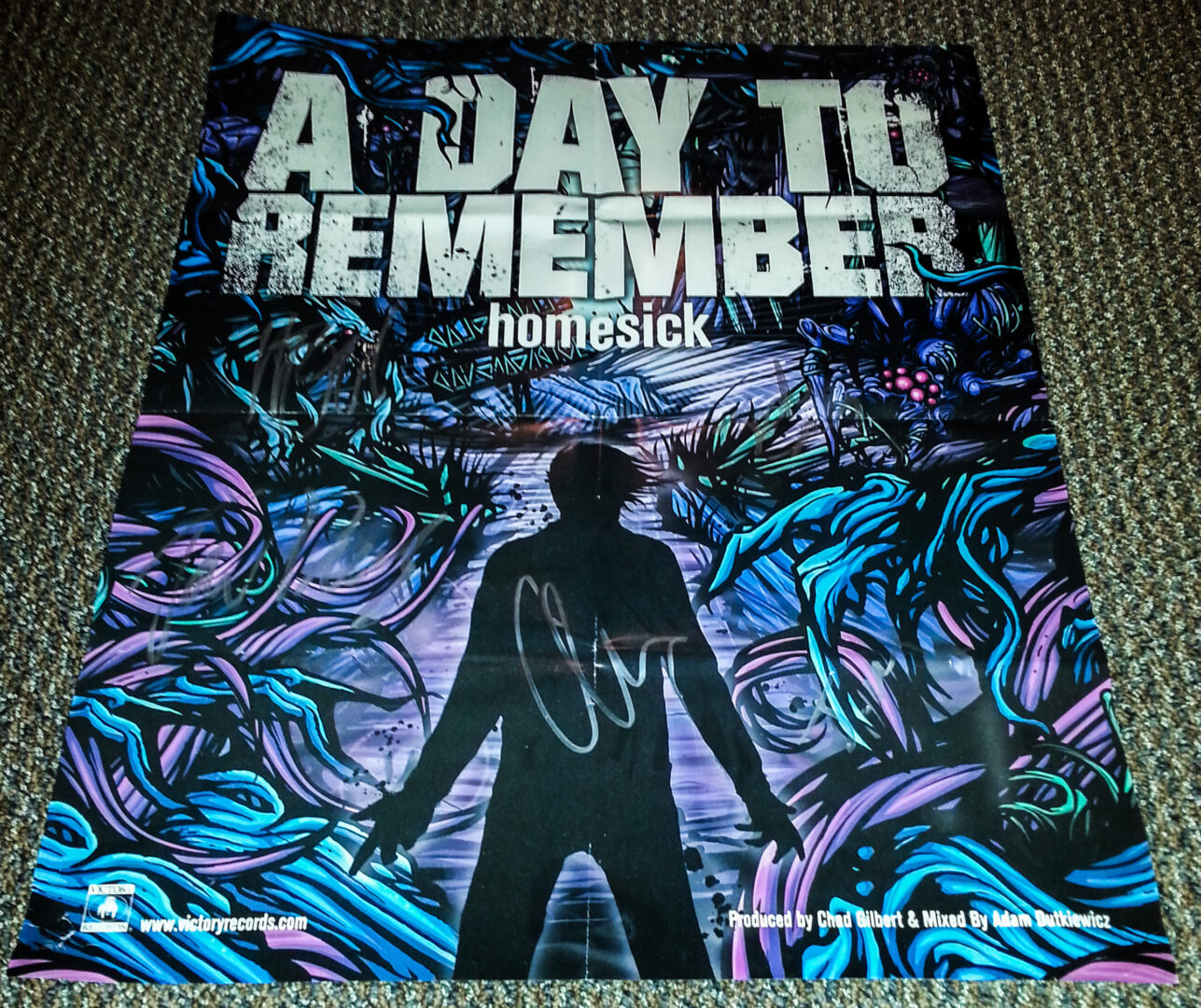 A Day To Remember Signed Poster - Contest