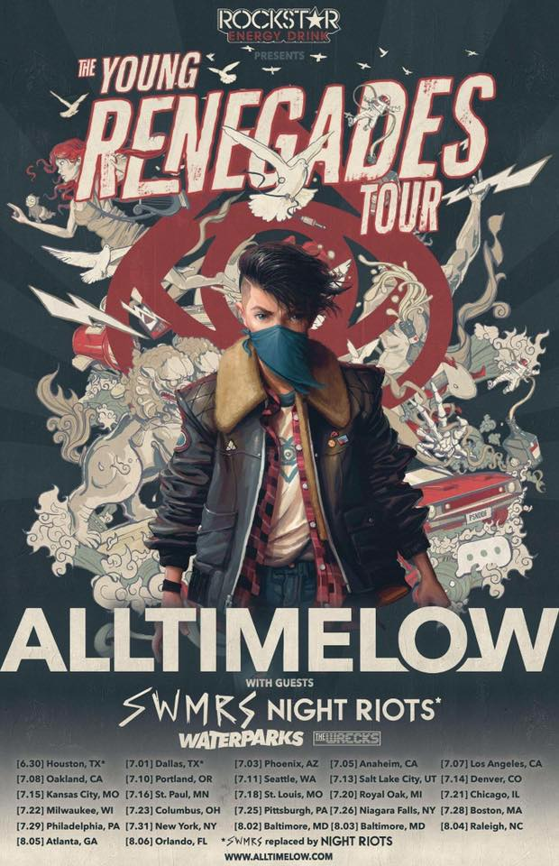All Time Low The Young Renegade Tour