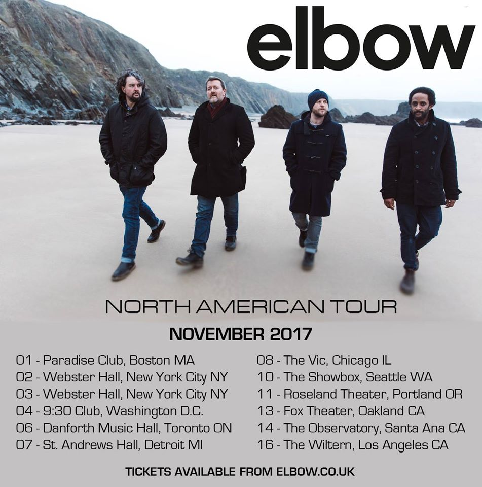 Elbow Tour Chicago